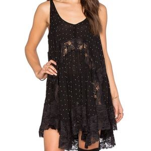 Free People black slip dress NEW without tag